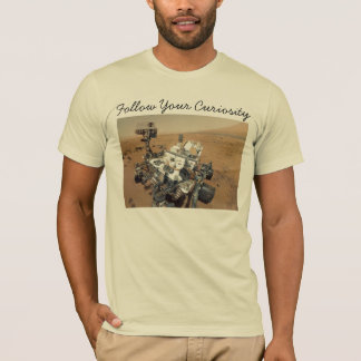 Mars Curiosity Self-Portrait T-Shirt