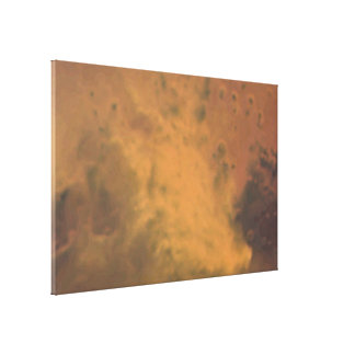 Mars Dust Storm -- October 28, 2005 Gallery Wrapped Canvas