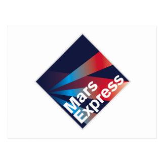Mars Express  Postcard