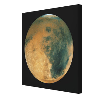 Mars Gallery Wrapped Canvas