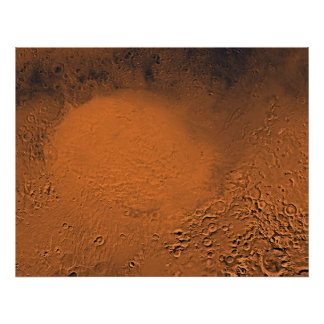 Mars - Hellas Panitia Print