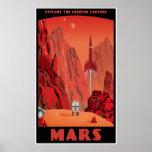 Mars: large version poster