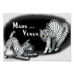 Mars meets Venus Posters