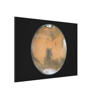 Mars Near Opposition Stretched Canvas Print