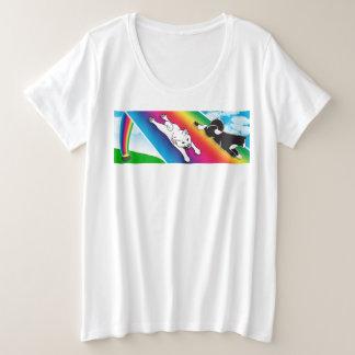 MARS Plus Size Lucky T-shirt