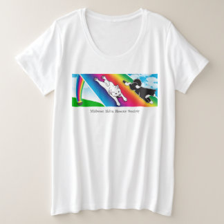 MARS Plus Size Lucky T-shirt, front brand only Plus Size T-Shirt