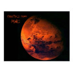 Mars Post Card
