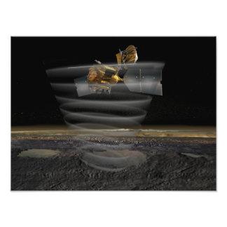 Mars Reconnaissance Orbiter's Radar at Work Photograph