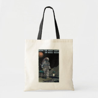 Mars Recruitment - Night Shift Tote Bag