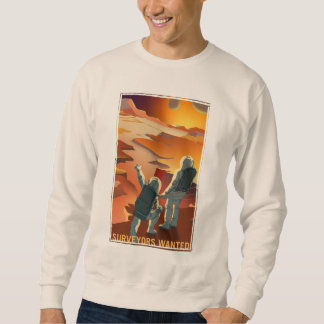 Mars Recruitment - Surveyors Wanted Sweatshirt