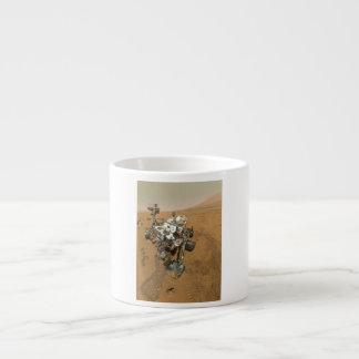 Mars Rover Curiosity at Rocknest Espresso Mug