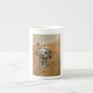Mars Rover Curiosity at Rocknest Bone China Mug