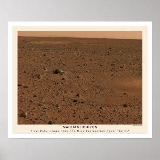 Mars Rover Spirit First Photo 2004 Poster