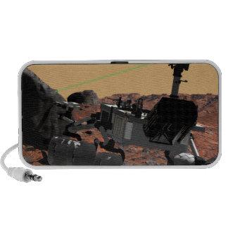 Mars Science Laboratory 3 Travelling Speakers