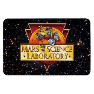 Mars Science Laboratory Mission Logo Rectangular Photo Magnet
