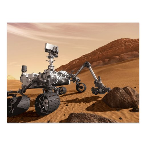 Mars Science Laboratory Postcard