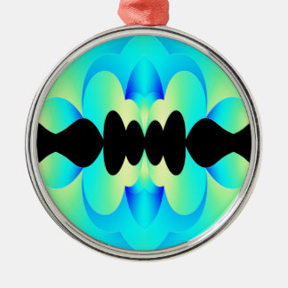 Mars Silver-Colored Round Decoration