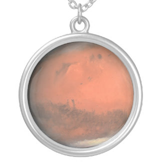Mars! Silver Plated Necklace