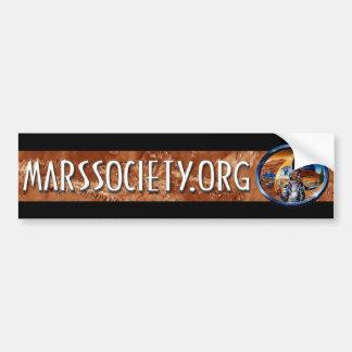 Mars Society Bumper Sticker