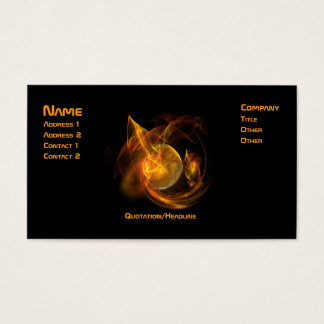 Mars Spectacular Business Card