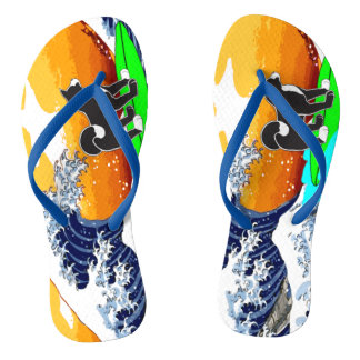 MARS Surfer Flip Flops