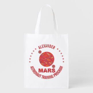 Mars The Red Planet Space Geek Solar System Fun Market Totes