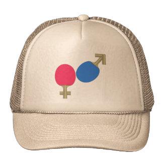 Mars Venus Ping Pong Hats