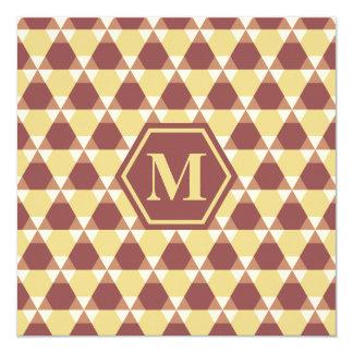 Marsala and Custard T-H Invitation