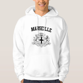 Marseille Coat of Arms Hoodie