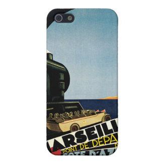 Marseille Cote d Azur Vintage Travel iPhone 5 Cover