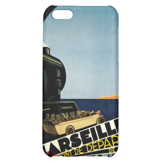 Marseille Cote d Azur Vintage Travel Case For iPhone 5C
