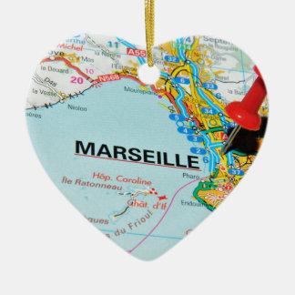 Marseille, Marseilles, France Christmas Ornament