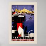 Marseille Porte Afrique Du Nord Posters