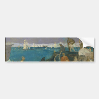 Marseilles, Gateway to the Orient by Puvis Bumper Sticker