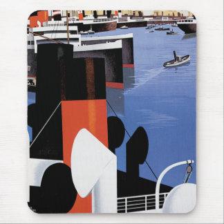 Marseilles Poster Mouse Mat