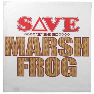 Marsh Frog Save Napkin