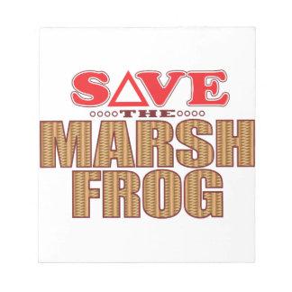 Marsh Frog Save Notepad