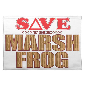 Marsh Frog Save Placemat