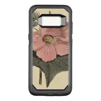 Marsh Hibiscus Botanical Illustration OtterBox Commuter Samsung Galaxy S8 Case