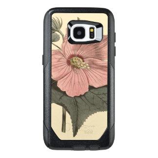 Marsh Hibiscus Botanical Illustration OtterBox Samsung Galaxy S7 Edge Case
