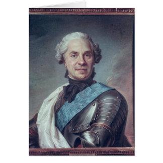 Marshal Maurice de Saxe Card