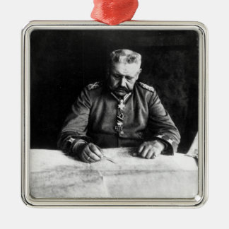 Marshal Paul von Hindenburg, 1914 Christmas Ornament