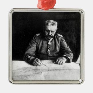 Marshal Paul von Hindenburg, 1914 Silver-Colored Square Decoration