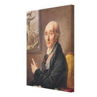 Marshal Pierre Francois Charles Augereau Canvas Print