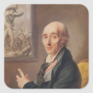 Marshal Pierre Francois Charles Augereau Square Sticker
