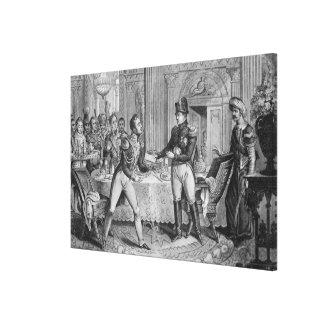 Marshal Pierre Francois Joseph Lefebvre Canvas Print