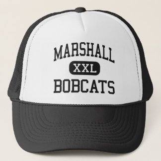Marshall - Bobcats - High - Marshall Arkansas Trucker Hat