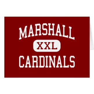 Marshall - Cardinals - High - Marshall Wisconsin Card