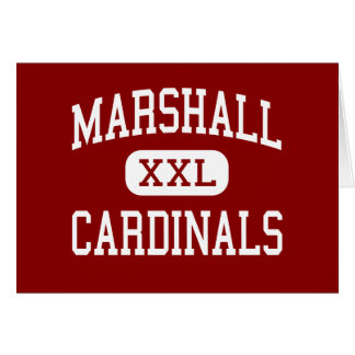 Marshall - Cardinals - Middle - Janesville Cards