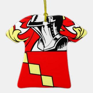 Marshall (English) Coat of Arms Ornament
